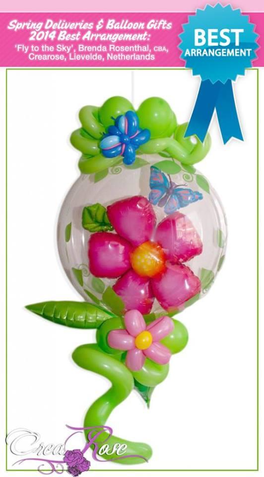 Prijs winnende ballondecoratie van CreaRose