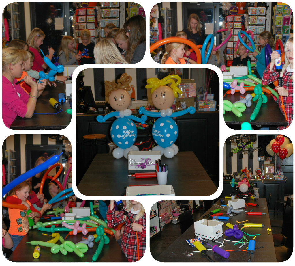 Kinderfeestje Ballonmodelleren