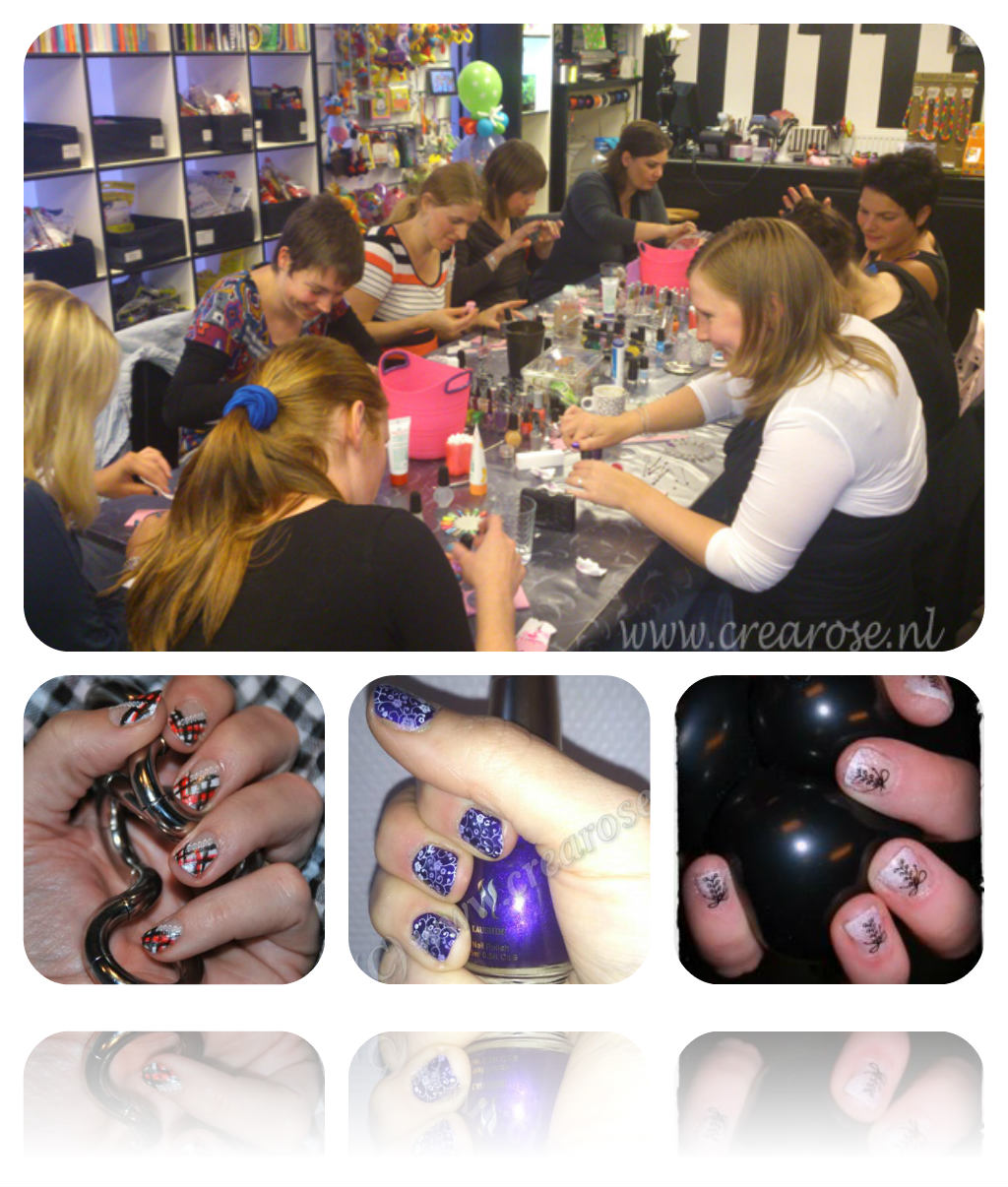CreaRose Nailart Workshop